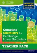 Cover for Complete Chemistry for Cambridge Secondary 1 Teacher Pack
