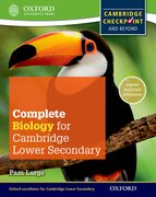 Cover for Complete Biology for Cambridge Secondary 1 Student Book