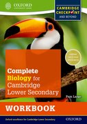 Cover for Complete Biology for Cambridge Secondary 1 Workbook