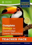 Cover for Complete Biology for Cambridge Secondary 1 Teacher Pack