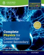 Cover for Complete Physics for Cambridge Secondary 1 Student Book