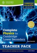 Cover for Complete Physics for Cambridge Secondary 1 Teacher Pack