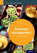 Cover for IB Business Management Study Guide: 2014 edition