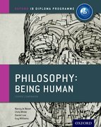 Cover for IB Philosophy Being Human Course Book