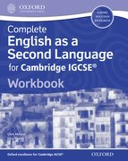 Cover for English as a Second Language for Cambridge IGCSERG