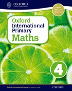 Cover for Oxford International Primary Maths Stage 4: Age 8-9 Student Workbook 4