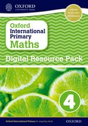 Cover for Oxford International Primary Maths Digital Resource Pack 4