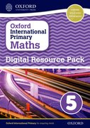Cover for Oxford International Primary Maths Digital Resource Pack 5