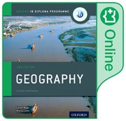 Cover for IB Geography Online Course Book: Oxford IB Diploma Programme