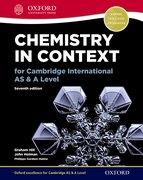 Cover for Chemistry in Context for Cambridge International AS & A Level