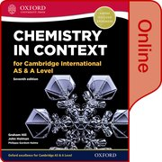 Cover for Chemistry in Context for Cambridge International AS & A Level Online Student Book