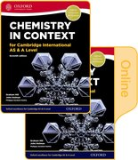 Cover for Chemistry in Context for Cambridge International AS & A Level Print & Online Student Book Pack