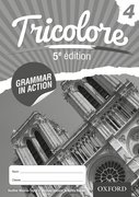 Cover for Tricolore 5e edition Grammar in Action 4 (8 Pack)
