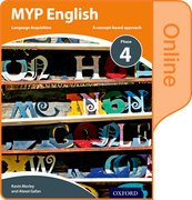 Cover for MYP English Language Acquisition Phase 4 Online Student Book