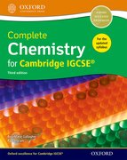 Cover for Complete Chemistry for Cambride IGCSERG Student Book