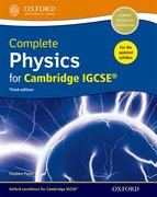Cover for Complete Physics for Cambridge IGCSERG Student book