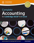 Cover for Complete Accounting for Cambridge IGCSERG & O Level