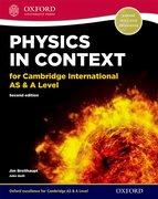 Cover for Physics in Context for Cambridge International AS & A Level Student Book
