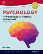 Cover for Psychology for Cambridge International AS and A Level Student Book