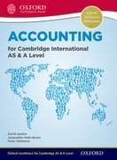 Cover for Accounting for Cambridge International AS and A Level Student Book
