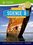Cover for Essential Science for Cambridge Secondary 1 Stage 8 Student Book
