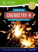 Cover for Essential Chemistry for Cambridge Lower Secondary Stage 9 Student Book
