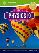 Cover for Essential Physics for Cambridge Lower Secondary Stage 9 Student Book