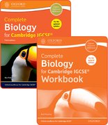 Cover for Complete Biology for Cambridge IGCSERG Student Book and Workbook Pack