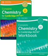 Cover for Complete Chemistry for Cambridge IGCSE Student Book and Workbook Pack