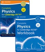 Cover for Complete Physics for Cambridge IGCSERG Student Book and Workbook Pack