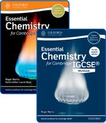 Cover for Essential Chemistry for Cambridge IGCSERG Student Book and Workbook Pack