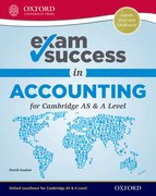 Cover for Exam Success in Accounting for Cambridge AS & A Level