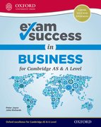 Cover for Exam Success in Business for Cambridge AS & A Level