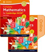 Cover for Complete Mathematics for Cambridge IGCSERG Print & Online Student Book (Core)