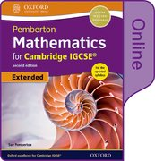 Cover for Pemberton Mathematics for Cambridge IGCSERG Online Student Book (Extended)