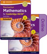 Cover for Pemberton Mathematics for Cambridge IGCSERG Print & Online Student Book