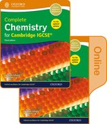 Cover for Complete Chemistry for Cambridge IGCSERG Print and Online Student Book Pack