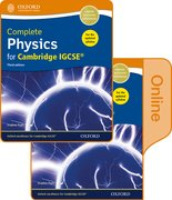 Cover for Complete Physics for Cambridge IGCSERG Print and Online Student Book Pack