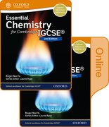 Cover for Essential Chemistry for Cambridge IGCSERG Print and Online Student Book Pack