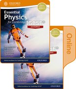 Cover for Essential Physics for Cambridge IGCSE Print and Online Student Book Pack