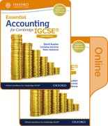 Cover for Essential Accounting for Cambridge IGCSE Print and Online Student Book Pack