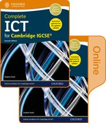 Cover for Complete ICT for Cambridge IGCSE Print and online student book pack