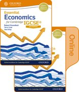 Cover for Essential Economics for Cambridge IGCSERG Print and Online Student Book Pack