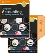 Cover for Complete Accounting for Cambridge O Level & IGCSE Student Book & Online Book