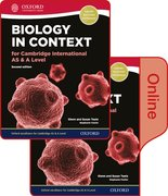 Cover for Biology in Context for Cambridge International AS & A Level Print and Online Student Book Pack