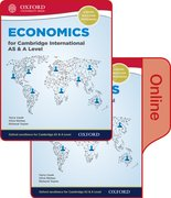 Cover for Economics for Cambridge International AS and A Level Print & Online Student Book