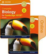 Cover for Complete Biology for Cambridge IGCSERG Print and Online Student Book Pack