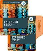 Cover for Extended Essay Print and Online Course Book Pack: Oxford IB Diploma Programme