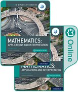 Cover for Oxford IB Diploma Programme IB Mathematics: applications and interpretation, Higher Level, Print and Enhanced Online Course Book Pack
