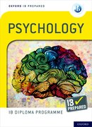 Cover for Oxford IB Diploma Programme IB Prepared: Psychology